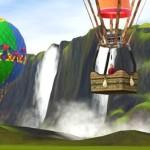 Horkovzdušné balóny v The Sims 3