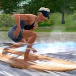 Trénujte surfování na surfovacím simulátoru